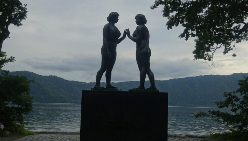 乙女の像,高村光太郎,十和田湖